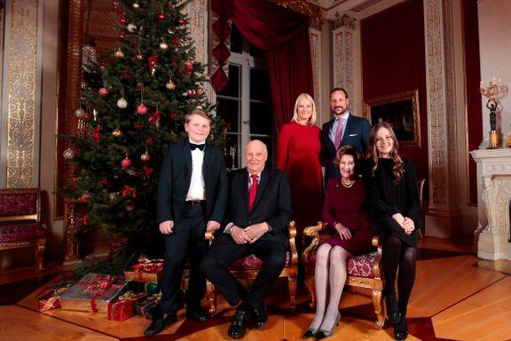 Slik feirer kongefamilien julen