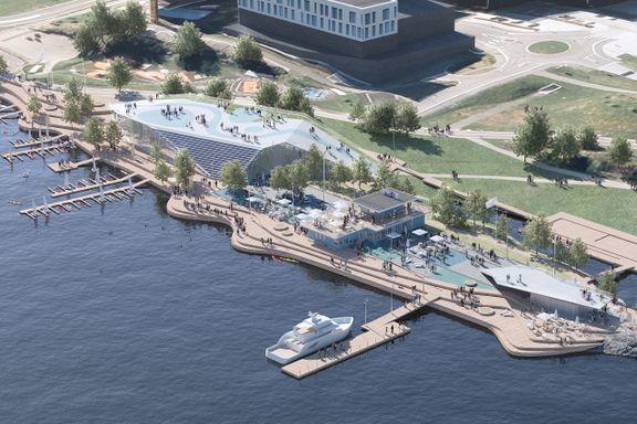 Selvaag ville ha akvarium på Fornebu. Nå lanserer Obos et eget forslag.