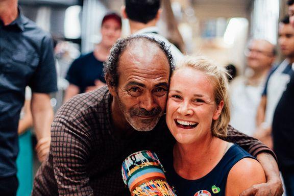 Toppidrettsutøveren fant igjen gleden hos de hjemløse