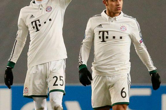 Bayern fortsetter storspillet