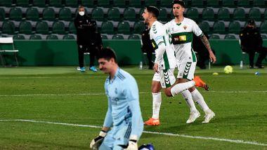 Real Madrid-flause: Klarte bare uavgjort mot Elche
