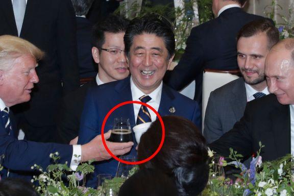 Putin hadde med seg egen termoskopp til G20-middagen