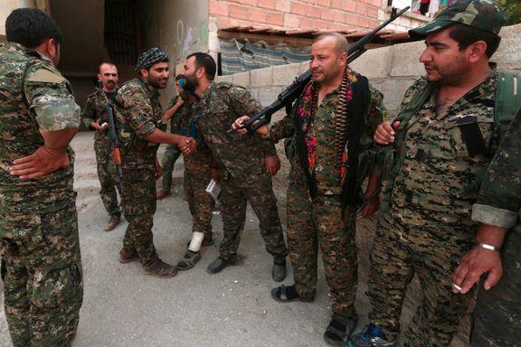 Kurdisk storoffensiv i syriske Hasaka