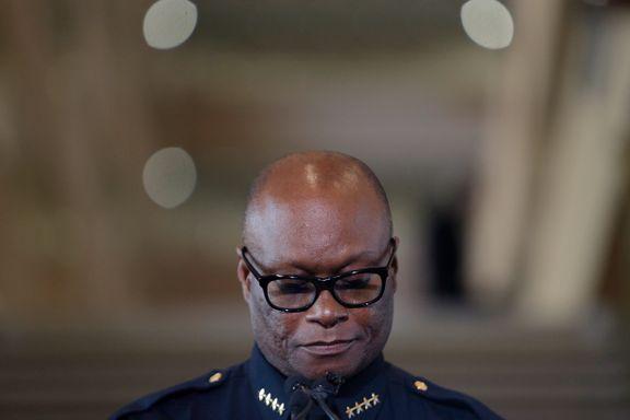 Politisjefen i Dallas har vært tragediens ansikt utad, men har selv en tragisk historie.