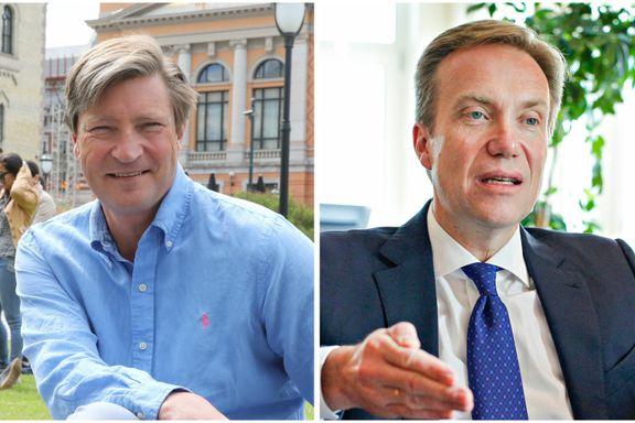 Strid om Russland-sanksjoner mellom regjeringspartiene Frp og Høyre