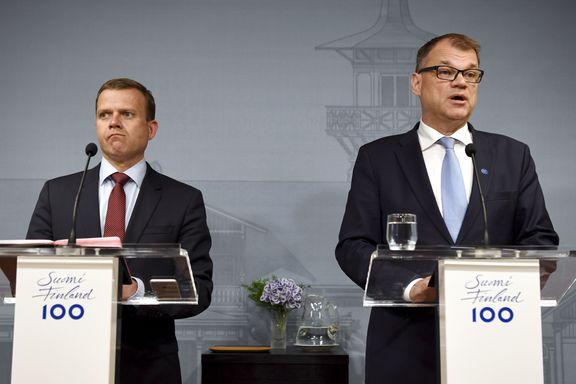 Politisk drama i Finland: Statsministeren ber presidenten oppløse regjeringen