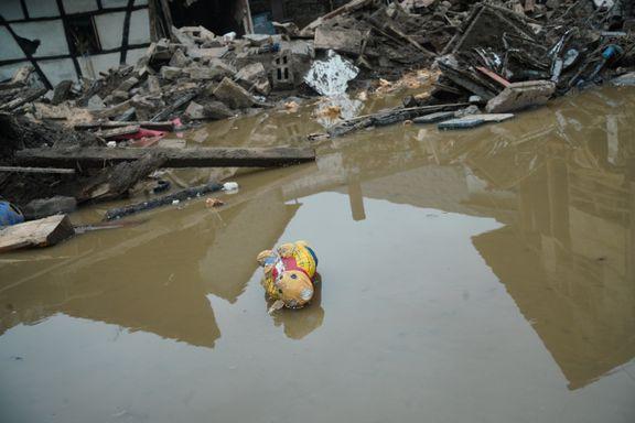 Enorme ødeleggelser etter flommen i Tyskland. Kan det samme skje i Norge?