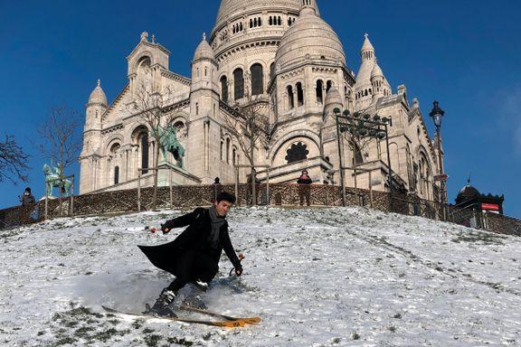 Alpinanleggene er stengt. Montmartre ble løsningen.