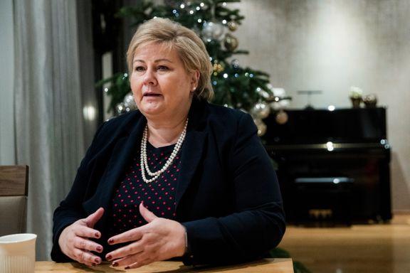 Solberg oppfordrer innstendig til ikke å dele video av drap i Marokko