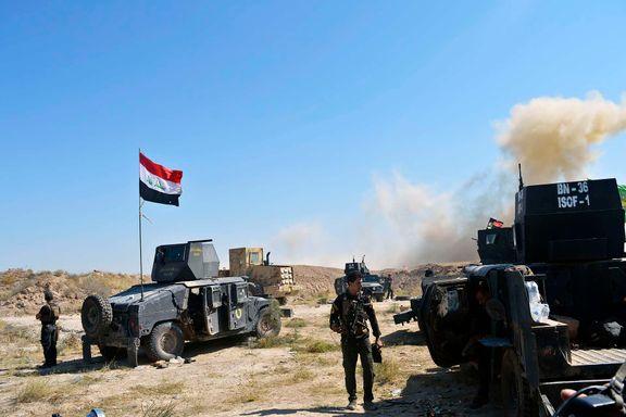 Hevder IS har drept 130 irakske soldater i kampen om Falluja