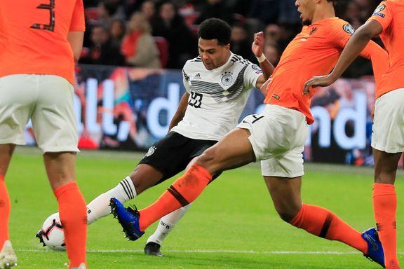 Tyskland slo Nederland i thriller