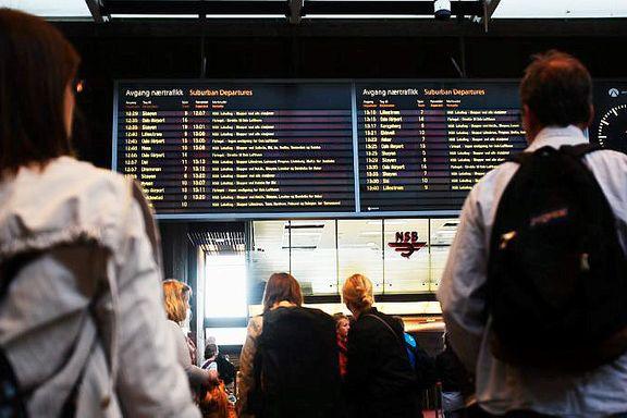 Togtrøbbel gir forsinkelser i Oslo-området