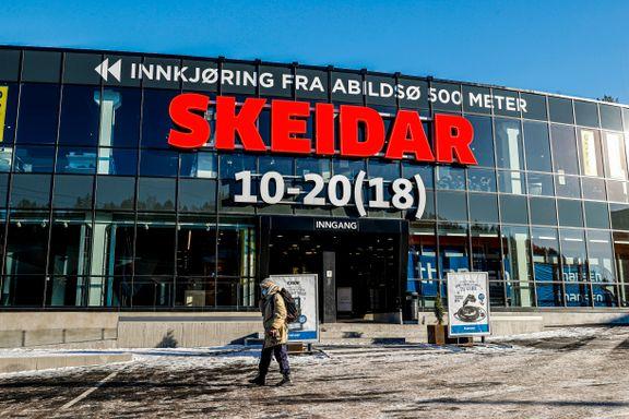 Skeidar-butikker bygget om og pusset opp. Likevel fikk de koronastøtte.