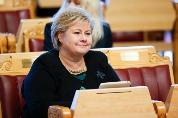Solberg tjener mest - og er rikest - i regjeringen
