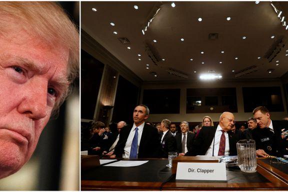 Donald Trump har gått til åpen krig mot etterretningen han snart skal lede