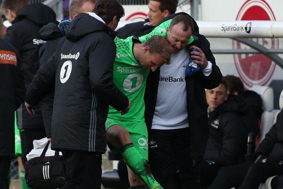 Skadet Hansen var forbannet før seiersmålet