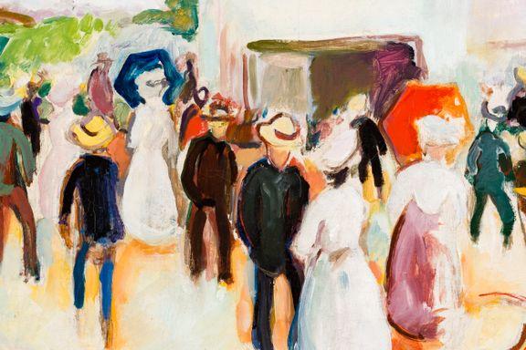 Munchmuseet inngår nytt samarbeid, får dette verket i gave