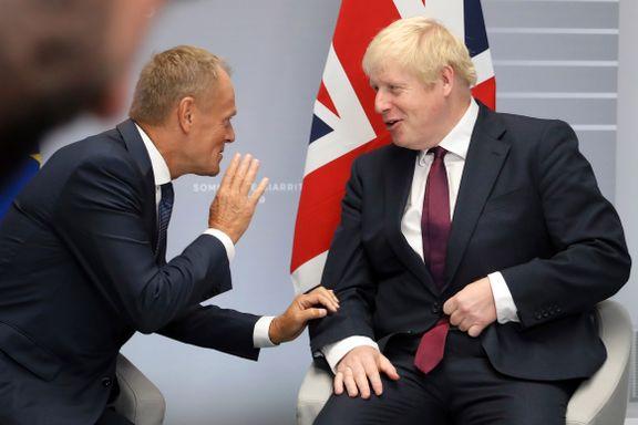 EU-presidenten og britenes statsminister møtes for brexit-samtaler mandag