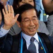 Ordføreren i Seoul funnet død