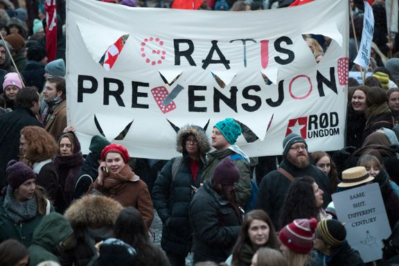 Også jenter under 16 år må få tilbud om gratis prevensjon.