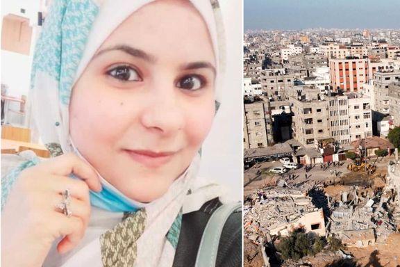 24-åringen har opplevd tre kriger. Hun har aldri vært så redd som nå.
