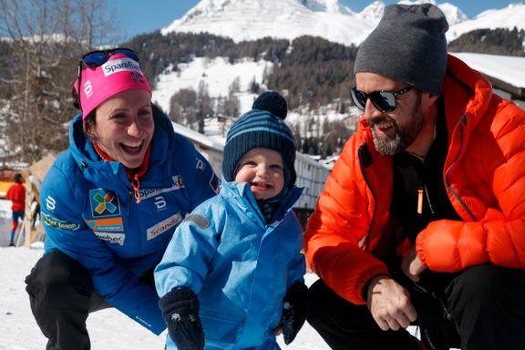 Bjørgen og Lundberg ble foreldre for andre gang: – Like stort og spesielt som den første gangen