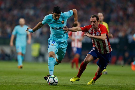 Suárez berget Barcelona-poeng i toppkampen