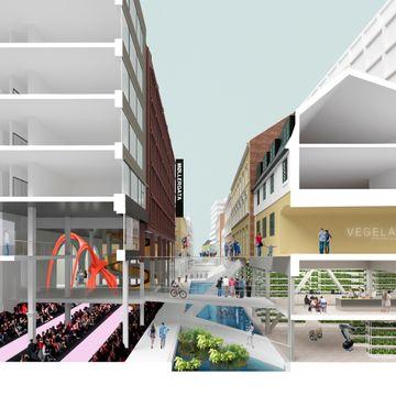 Arkitektene fikk en oppgave: Hva hvis gatene ikke må brukes til biler?