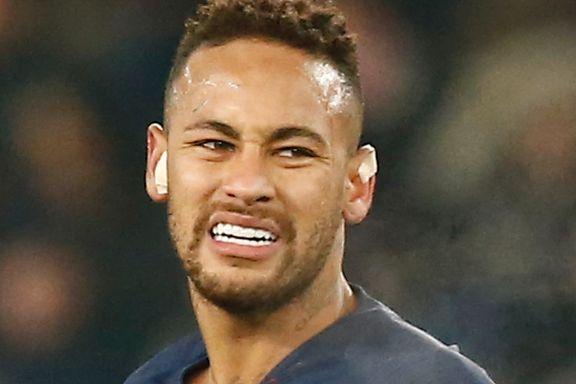 Tunge nyheter foran møtet med Manchester United: Neymar går glipp av begge kampene