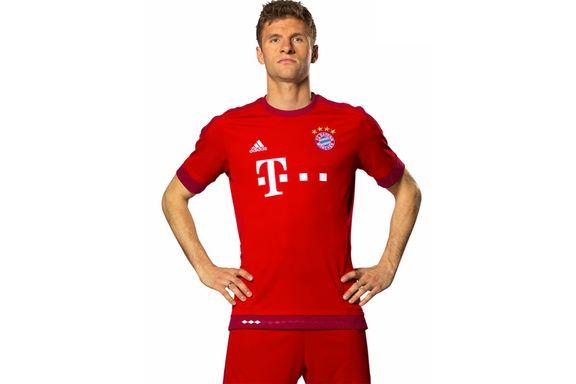 Bayern tilbake i helrødt
