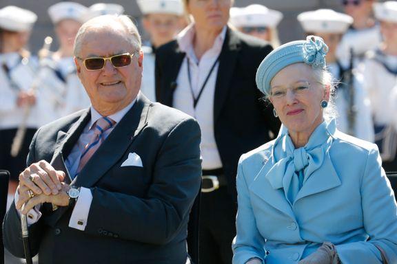 Fikk aldri statusen han ønsket. Slik var hans liv i skyggen av dronning Margrethe.