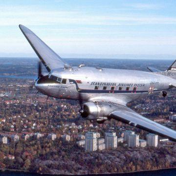 SAS maler om flyene. Se utviklingen gjennom 73 år.