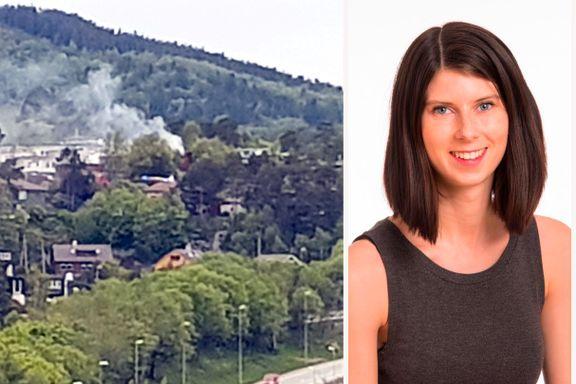 Hun kjøpte huset for et halvt år siden og pusset det opp. I morges brant det.