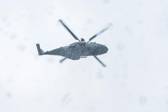 Regjeringen avblåser helikopterkrisen
