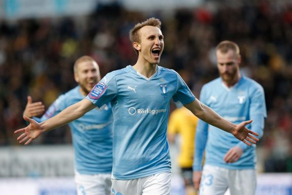Tre nordmenn scoret i Malmö-seier