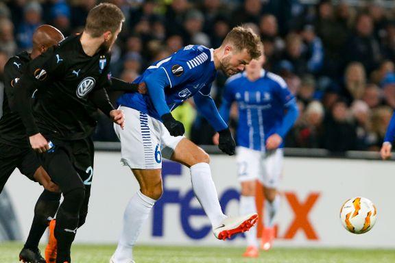 Europa League direkte: Sarpsborg eksploderte da Halvorsen utlignet