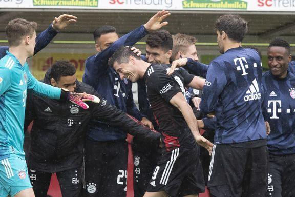 Lewandowski tangerte Müllers målrekord