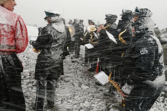 Halve Norge snør ned: – Vi klarte å spille, men hvordan det låt, vet jeg ikke