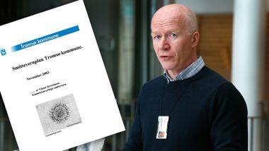 74 kommuner manglet god smittevernplan rett før koronakrisen kom. Tromsøs plan var 17 år gammel.