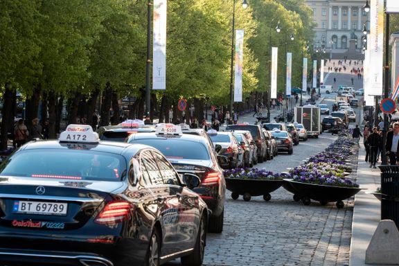 Slik kan Oslo sentrum se ut neste år: Trafikkaos og flere hundre nye taxier