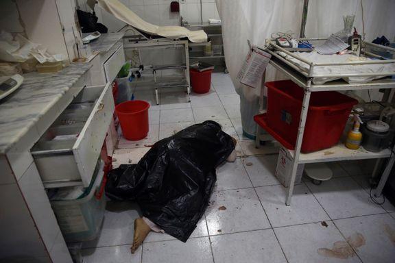Babyer, mødre og sykepleiere drept i sykehusangrep