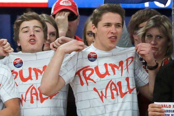 Joda, Mexico skal betale for Trumps grensemur