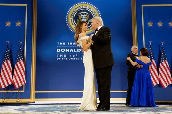 Presidentseremonien i bilder: Farvel Obama, velkommen Trump