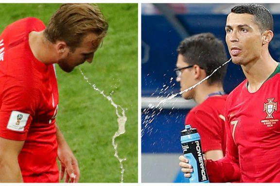 Har du lagt merke til VM-stjernenes spyttevane? New York Times tror de har forklaringen.