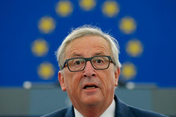Juncker: – EU er inne i en eksistensiell krise