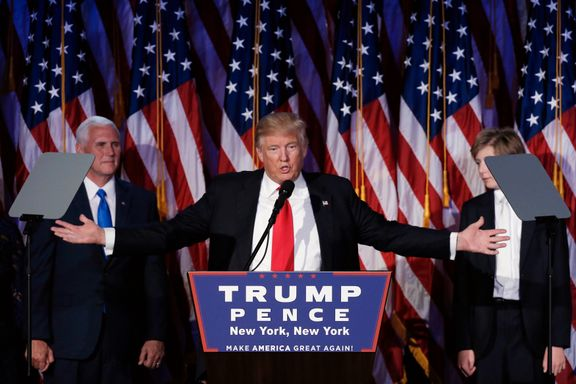 NUPI-forsker og tidligere etterretningssjef:  Verden blir mer uforutsigbar og utrygg med Trump som president