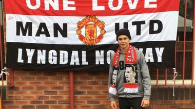 Sander (18) fra Lyngdal måtte flykte fra masseslagsmål før fotballkamp i England