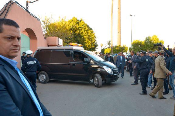 Flyet med ofrene for Marokko-drapene er på vei til København
