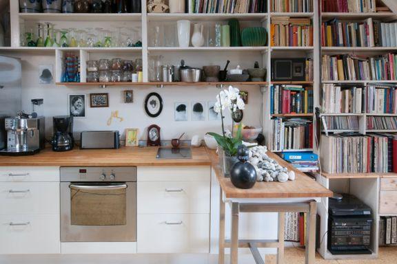 Med praktiske evner og utallige containerfunn har Vigdis skapt et funksjonelt hjem med personlighet