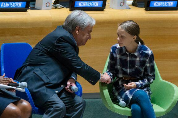 FN slipper ut like mye som et lite land